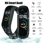 M4 Smart Watch Heart Rate Blood Pressure Monitor Sport Band Wristband Tracker