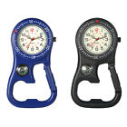 Outdoors Clip-On Backpack Belt Luminous Night Watch With Compass Bottle opener