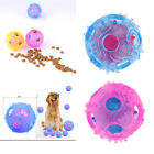 Durable Plastic Ball Chew Treat Dispensing Holder Pet Dog Puppy Cat Toy Training