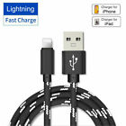 Lightning / Type-C / Micro-USB Fast Charger Charging Cable High-Speed 3FT/ 6.5FT