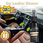 30/50ml Car Care Cleaner Polish Wax Interior Leather Seat Panel Dashboard