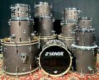 SONOR S Classix Series,  6 sizes to choose from, Black Glass Glitter - FREE SHIP