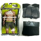 Men adidas Sport Performance (Black - Striped) Boxer Brief (2- Pack) Underwear
