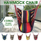 Leisure Canvas Swing Chair Hammock Hanging Seat Porch Patio Garden Home