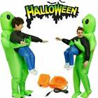 Adult Kids Inflatable Monster Costume Green Alien Carrying Me Cosplay Halloween