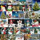 Christmas 5D DIY Full Drill Diamond Painting Cross Stitch Picture Xmas Decor Set