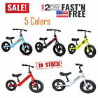 12' Children's Balance Bike No-Pedal Learn to Ride Pre Running Bicycle Kids Gift