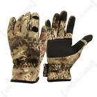 Verney Carron Snake Polyester Waterproof Camouflage Gloves - Forest