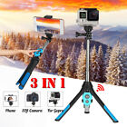 3in1 Universal Extendable Selfie Stick Tripod bluetooth Remote For