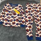 Mac Henry Originals 2pc Boys Pajama Set - Rescue vehicle helicopters 5/6 7/8 NWT