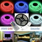 RGB LED Strip Lights 5-10M WIFI Remote Control for Room Bedroom TV Party Decor