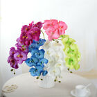 10pcs Artificial Butterfly Orchid Flowers Fake Flower Wedding Party Home Decor