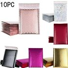 10PCS Bubble Mailers Padded Envelopes Lined Poly Mailer Self Seal Aluminizer