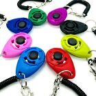 Puppy Dog Pet Training Clicker With Wrist Strap Obedience Train New Colors!