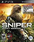 Sniper: Ghost Warrior -- One Shot -One Kill.  Sony PlayStation 3
