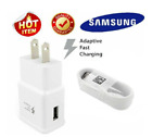 New Original Samsung Galaxy S9 S8plus Note 8 Fast OEM Wall Charger+Type C -CABLE