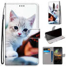 Magnetic Flip Leather Strap Stand Case Card Slots Cover For Lenovo/Meizu/Nokia