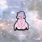 Creative Sexy Beauty Fashion Brooches Enamel Pins Backpack Badge Cartoon Jewelry