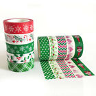1 Roll Christmas Washi Tape Scrapbooking Diary Planner Decor DIY Paper Stickers