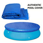 6/8/10/12FT Inflatable Swimming Paddling Pool Winter Cover PE Rainproof Foldable