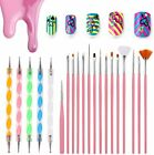 23 pcs Artist Paint Brushes Set Acrylic Oil Watercolour Painting Craft Art Pink