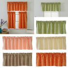 Blackout Half Window Covering Cafe Curtains Short Tier Curtains Panels Drapes