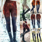 Womens Medieval Steampunk Gothic Leggings Trouser Cosplay Costume Skinny Pants