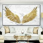 Golden Angel Wings Abstract Wall Art Posters Prints Canvas Painting Wall Decors