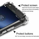 Crystal Clear Bumper Shockproof Silicone Cover Case For Motorola G Stylus G30 E7