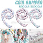 Cot Baby Crib Bumper Mesh Pillow for Cradle Newborn Bedding Pads Protector