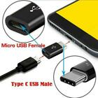 Micro Usb Female To Type-c Male Converter Usb-c Adapter Connector Converter