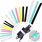 Reusable Cord Organizer Keeper Holder, Fastening Cable Ties Straps Wire Wrap