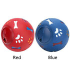 Pet Food Ball Chew Toy Playing Cartoon Pattern Dispenser Foraging Rotary Switch