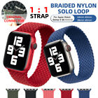 Nylon+Braided+Solo+Loop+Strap+Band+For+Apple+Watch+Series+6+SE+5+4+3+2+40+%2F+44mm