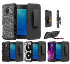 "For Samsung Galaxy J7 Star,Aura,Crown 5.5"" Hybrid Belt Clip Case Tree Camo"