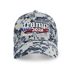 Trump 2024 Keep America Great Campaign Rally Embroidered US Trump Baseball Cap