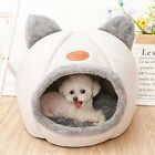 Extra Comfy Cat Bed Igloo Basket Pet House Puppy Tent Dog Kennel Cozy Cave + Mat