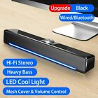 2020 LED TV Sound Bar AUX Wired Wireless Bluetooth Speaker Home Theater
