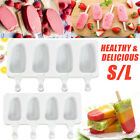 'Silicone Ice Cream Mould Popsicle Lolly Frozen Dessert Maker Cakesicles Tray
