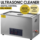 Industry 30L Ultrasonic Cleaner Cleaning Equipment Liter Heated W/ Timer Heater