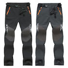 Mens Casual Tactical Hiking Long Pants Outdoor Climbing Combat Cargo Trousers