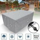 Waterproof Furniture Cover for Garden Rattan Table Cube Chair Sofa Dust Cover