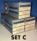 "Airequipt Magazine Slide Projector Trays [Lot of 3] Holds 36 2""x2"" [SEE DETAILS]"