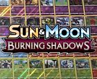 Pokemon Burning Shadows Reverse Holos - Singles - NM
