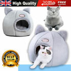 Puppy Cat Bed Cave Cozy Pet Dog Igloo Bed Warm House Nest Kennel Grey Dog