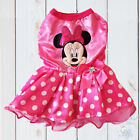 NEW MINNIE MOUSE CUTE DOG PUPPY COSTUME CLOTHES BIRTHDAY PARTY TUTU DRESS