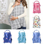 Baby Breastfeeding Nursing Aprons Privacy Cover Up Udder Covers Cotton Blanket