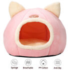 Plush Cave Bed for Cat Small Dog Snug Pet Igloo Bed Kitten Sleeping Nest Kennel