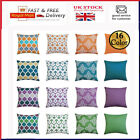 "Waterproof Cushion Cover Pillow Case Throw Outdoor Home Decor 16"" 18"" 20"" 24"""