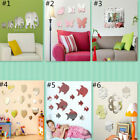 Removable Mirror Decal Art Mural Wall Sticker Diy Home Room Decor Transparent